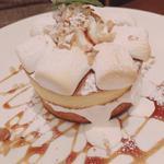 マシュマロキャラメルナッツパンケーキ