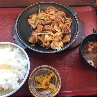 ホルモン定食(味蔵 長篠設楽原パーキングエリア(上り線) (ミクラ))