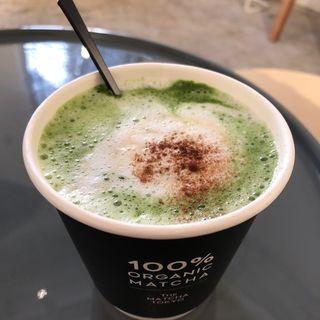 抹茶コーヒーラテ