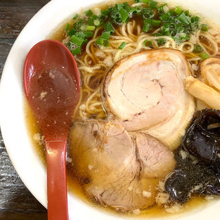 豚清湯煮干醤油ラーメン(常)