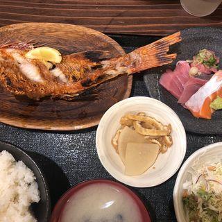 きんき鯛塩焼(銀座漁港 快海)