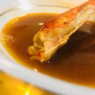 赤海老とズワイガニのビスク(Kitchenピエロ)