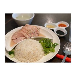 南海鶏飯 鶏肉増し(松記鶏飯 (SONG KEE JEE FAN))