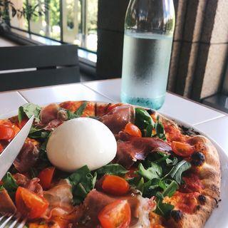 マルゲリータ・ブッラータ(GOOD CHEESE GOOD PIZZA)