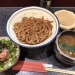 昼定食(ネギとろ飯)