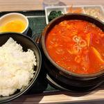 牛すじスンドゥブ(東京純豆腐 天神IMS店 (トウキョウスンドゥブ))