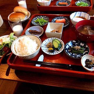 朝食(奥山旅館 )