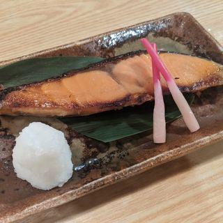銀鮭の西京焼き(日本酒バル 醸ス)