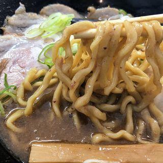 魚とんこつラーメン(ぶたのほし)