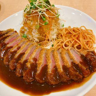 ビーフカツ定食(くま食堂 )