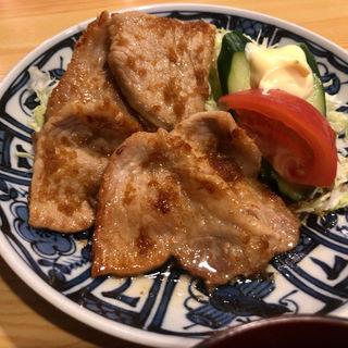 生姜焼き定食(渡辺 )