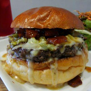 ハラペーニョチーズソースバーガー(Craft Burger co. 堂島店)