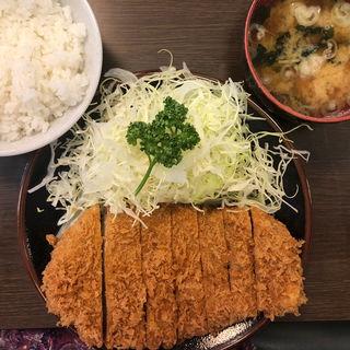上ロース定食(とんかつ藤芳 駅前店 )
