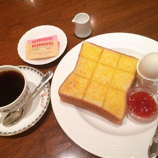 モーニングセット(珈琲茶館 集 有楽町アネックス店 )