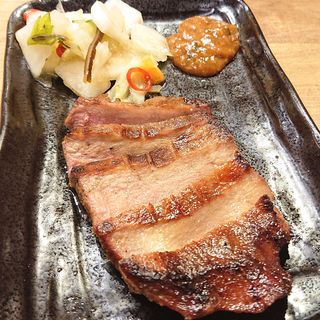 厚切り牛たんの炙り焼き(アカマル屋 川崎東口店)