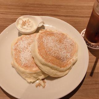 モーニングリコッタパンケーキ(高倉町珈琲 鶴ヶ島店)