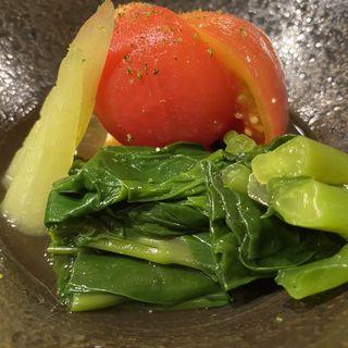 トマトお浸し(銀座しまだ )