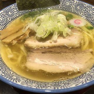 白醤油(らぁめん 真)