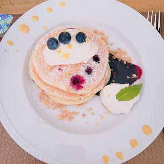 パンケーキ(ミカサデコ&カフェ)