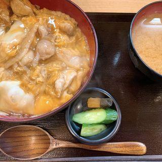 特製比内親子丼(昼は味噌汁、漬物付き)(泰然 (TAIZEN))