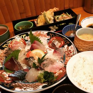 刺身定食(喰しん房 松むら)
