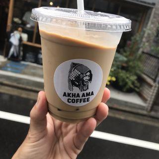 タイスタイルアイスコーヒー(AKHA AMA COFFEE)