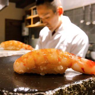 季節の一品料理と旬な鮨のコース(鮨と一品いちかわ)