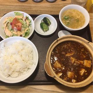 土鍋麻婆豆腐定食(福星門 (フクセイモン))