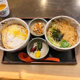 カツ丼セット(更科丸屋 )