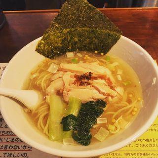 昆布の塩らーめん(塩生姜らー麺専門店 MANNISH (マニッシュ))