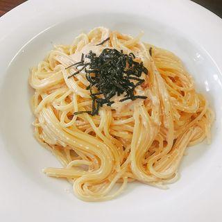 明太子パスタ(B.Cafe (ビー・カフェ))