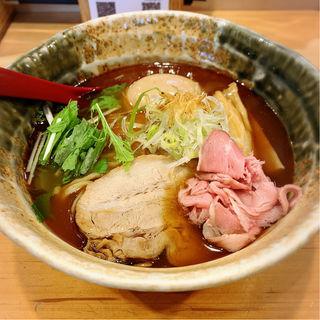 味玉入り焼きあご塩らー麺(焼きあご塩らー麺たかはし 銀座店)