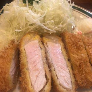 ポークカツレツ定食(かつれつ四谷たけだ )