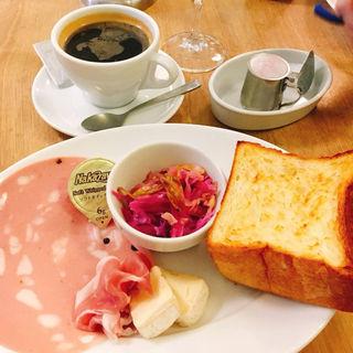 トーストセット(パンとエスプレッソと)
