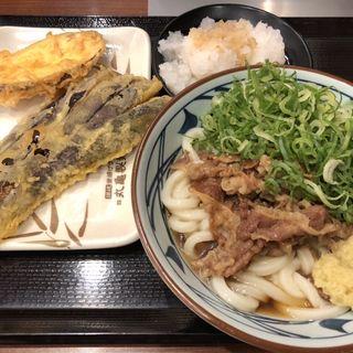鬼おろし肉ぶっかけうどん(丸亀製麺 宇都宮インターパーク店 )