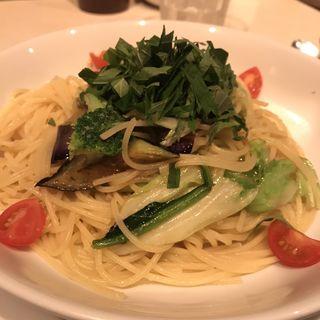 野菜たっぷりアンチョビ風味(ガーリック少なめ)(パスタ キッチン (PASTA KITCHEN))