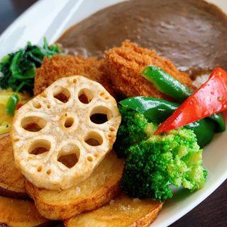 クーシーカレー 野菜トッピング(coocy)