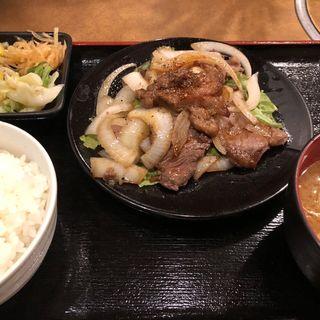 焼肉定食(甲州天山 )