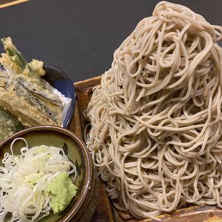 野菜つけ天(富士山盛り)(味奈登庵 都筑佐江戸店 (みなとあん))