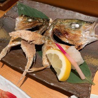 シマアジかぶと焼き(TAIZUSHI (タイズシ 【旧店名】すしの利行))