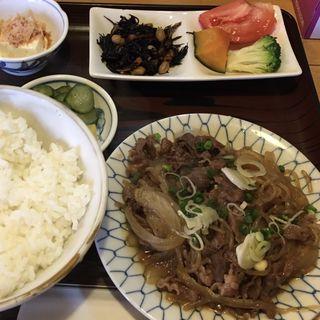 牛皿定食(まつざか )