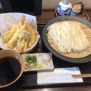 天ざるうどん(うどん屋麺之介 大阪店 )