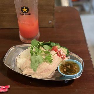 カオマンガイ(酒飯ぽぽぽ)