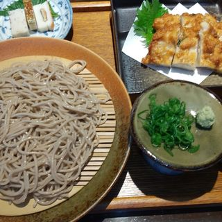 夢乃蕎麦定食(夢乃蕎麦 (ゆめのそば))