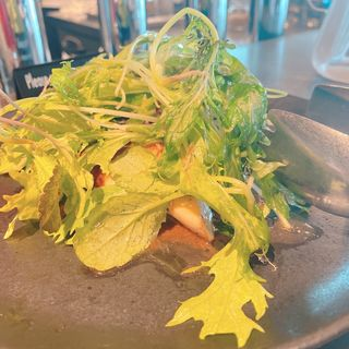 キノコとマッシュポテトのサラダ(CHICAMA CAFE (チカマ カフェ))