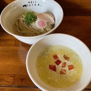 冷たい枝豆ポタージュのつけ麺(がふうあん )