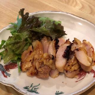 鶏の味噌焼き(大地と海のめぐみ 魚 (だいちとうみのめぐみ ぎょっ))