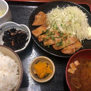 ポークステーキ(週替わり定食)