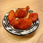 芳寿豚ソーセージとポテトサラダ