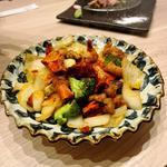 芳寿豚のピリパリ唐辛子炒め